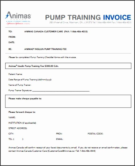 8 Training Invoice Templates Word Pdf Free Premium Templates Training Invoice Template