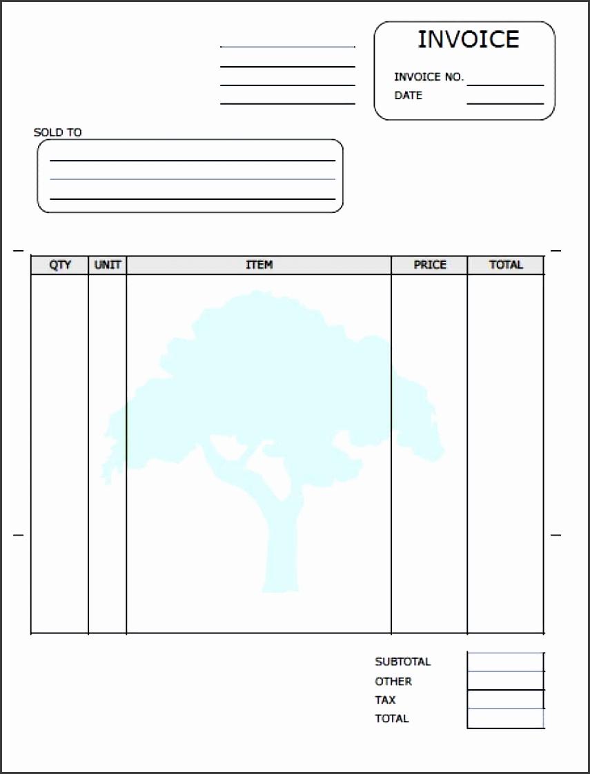 lawn care service invoice template adobe pdf microsoft