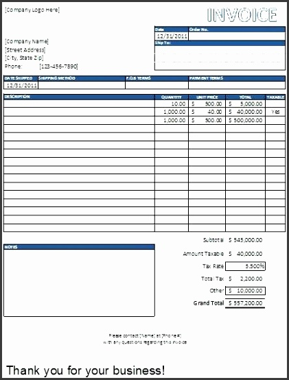 excel invoice templates free excel tax invoice template australia