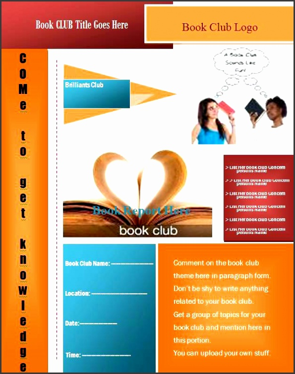 microsoft word flyer template free templates for flyers word book club flyer template graphics and templates