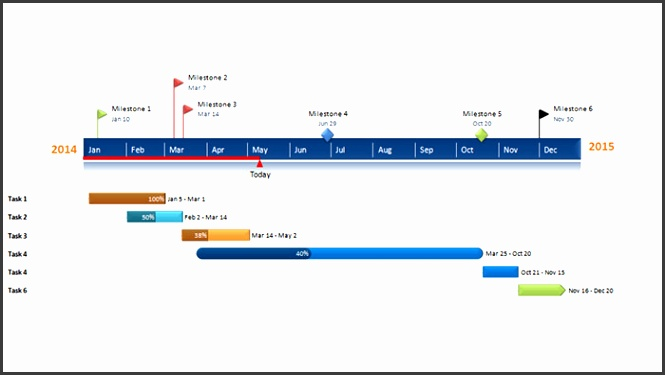 Powerpoint Project Plan Timeline Template