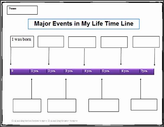 timeline templates word