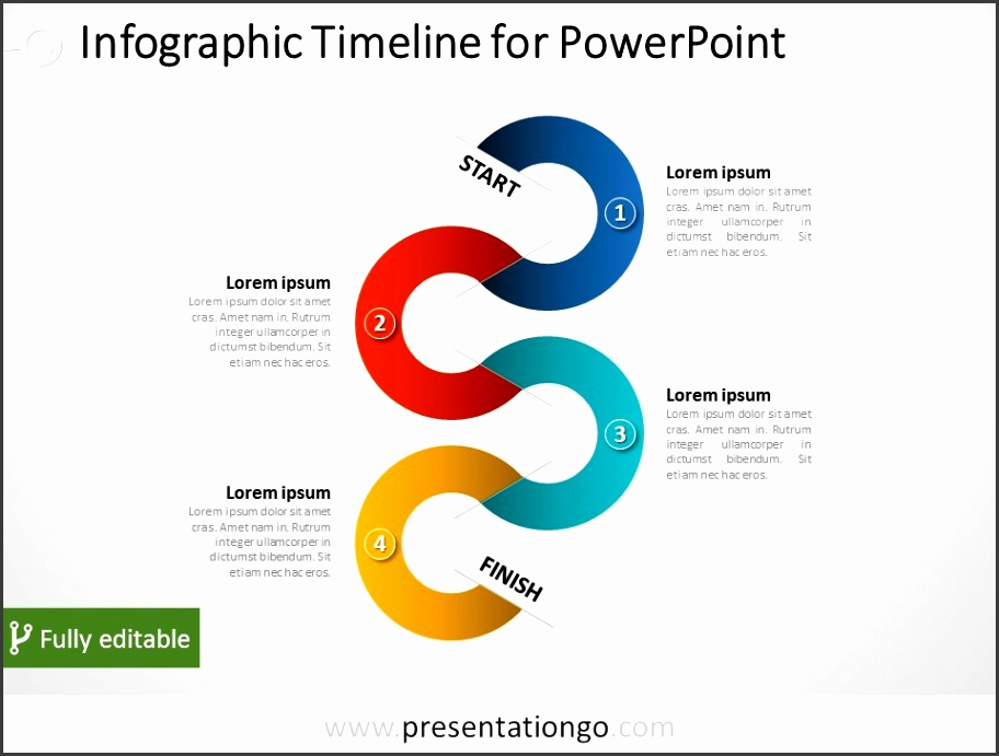 Free Timeline Infographic PowerPoint Тemplates by PresentationGo