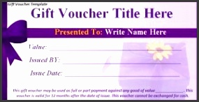 Download Free Gift Voucher Template