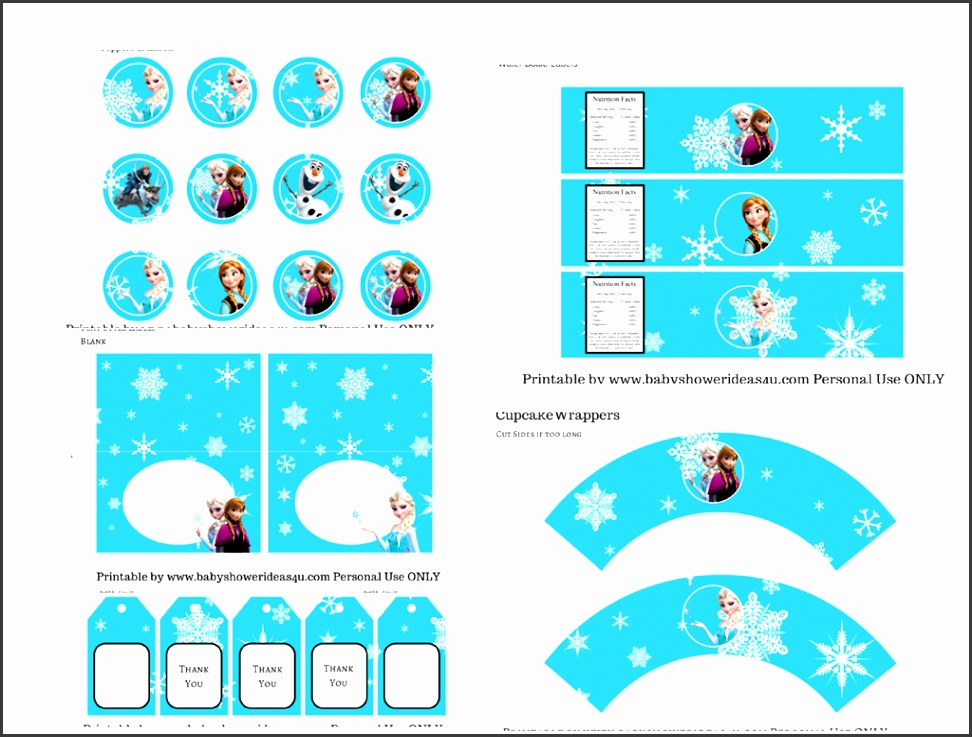 FREE Disney s FROZEN Printable