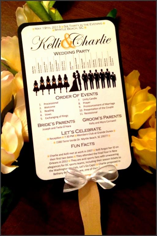 nice pinterest wedding program photos best 25 wedding reception wedding fan programs templates