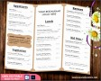 5  French Restaurant Menu Templates