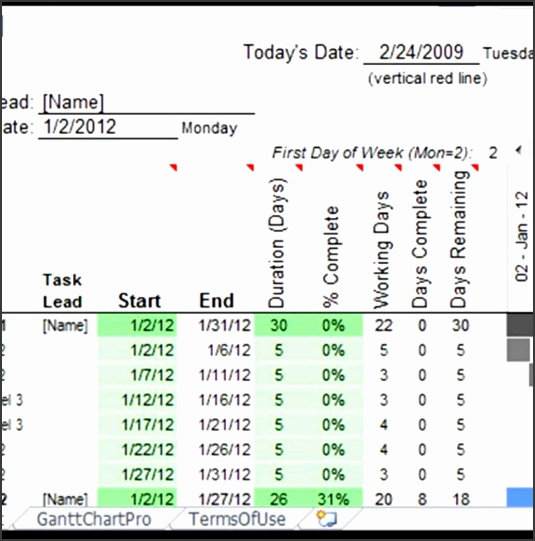 ms excel gantt chart template free and for stock profitloss tracki templates business accounting tracking calendar project management inventory 805x805