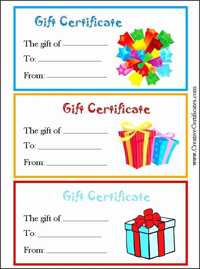 generic t certificates with pictures ts blue yellow voucher templates certificate