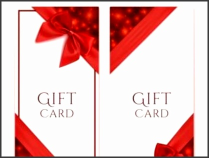 Romantic Gift Cards Templates Free Vectors UI Download