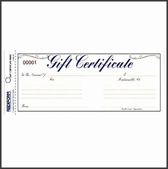 REDIFORM Gift Certificate Envelope Pack 25 Duplicates Gold Yellow 3 67 x