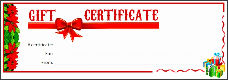 Microsoft fice Gift Certificate Template Word Template Gift Certificate Printable Gift Certificate Ms Word Free