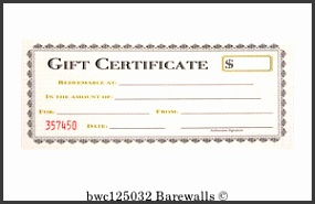 Gift Certificate Art Print Poster Gift Certificate