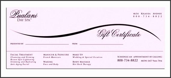 Gift Certificate Printing Custom Gift Certificates Uprinting