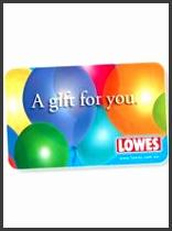 Lowes $10 Balloon Gi