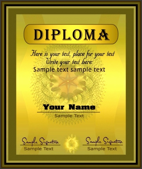 Graduation certificate free vector 905 Free vector for mercial use format ai eps cdr svg vector illustration graphic art design