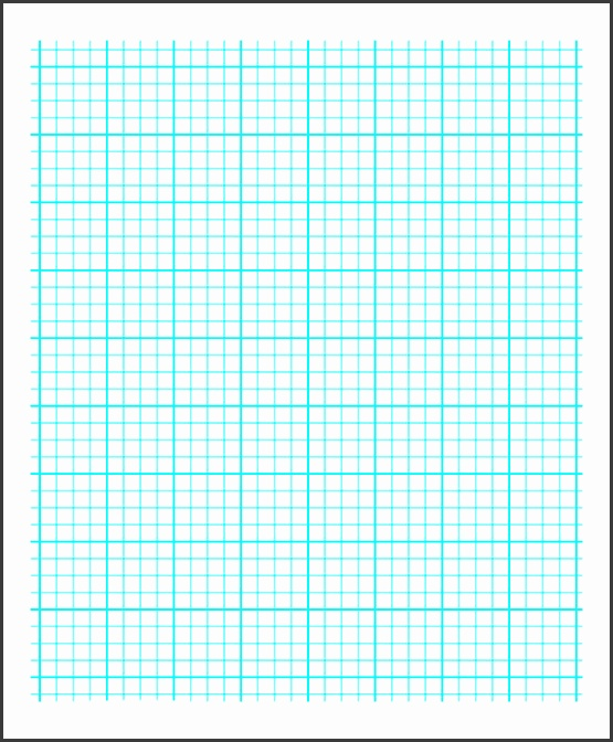 Printable Graph Paper with Heavy Index Lines PDF