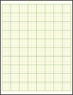 graph paper template printable sample docs 5