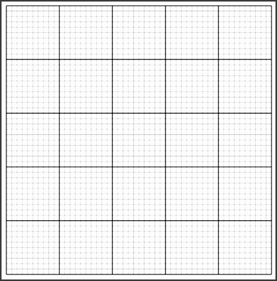 Free Printable Graph Paper PDF Template Centimeter & Inch