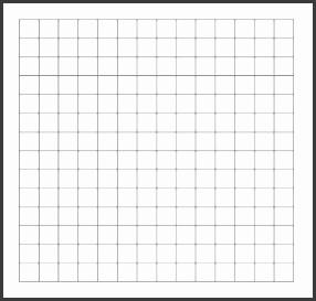 14 x 14 blank