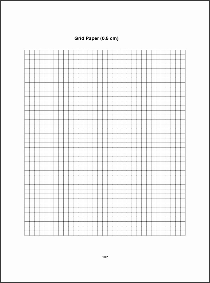 0 5 centimeter graph paper template d1