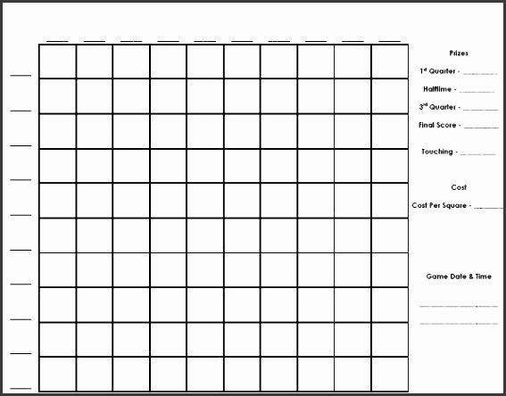 super bowl pool template grid photoshots exquisite 100 squares football