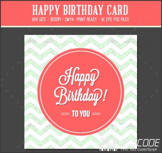 Beautiful Birthday Greeting And Invitation Cards PSD Template Birthday invitation card template psd
