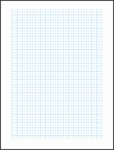 Graph Paper Template Format Template eFZ1WH3E