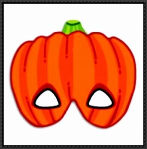 Canon Papercraft Halloween Paper Model Pumpkin Mask