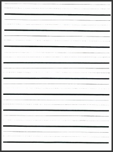 Writing Lines Template Lined Paper Template 12 Free Word Excel Pdf Documents Printable Dashed Lines For Writing Student Handouts