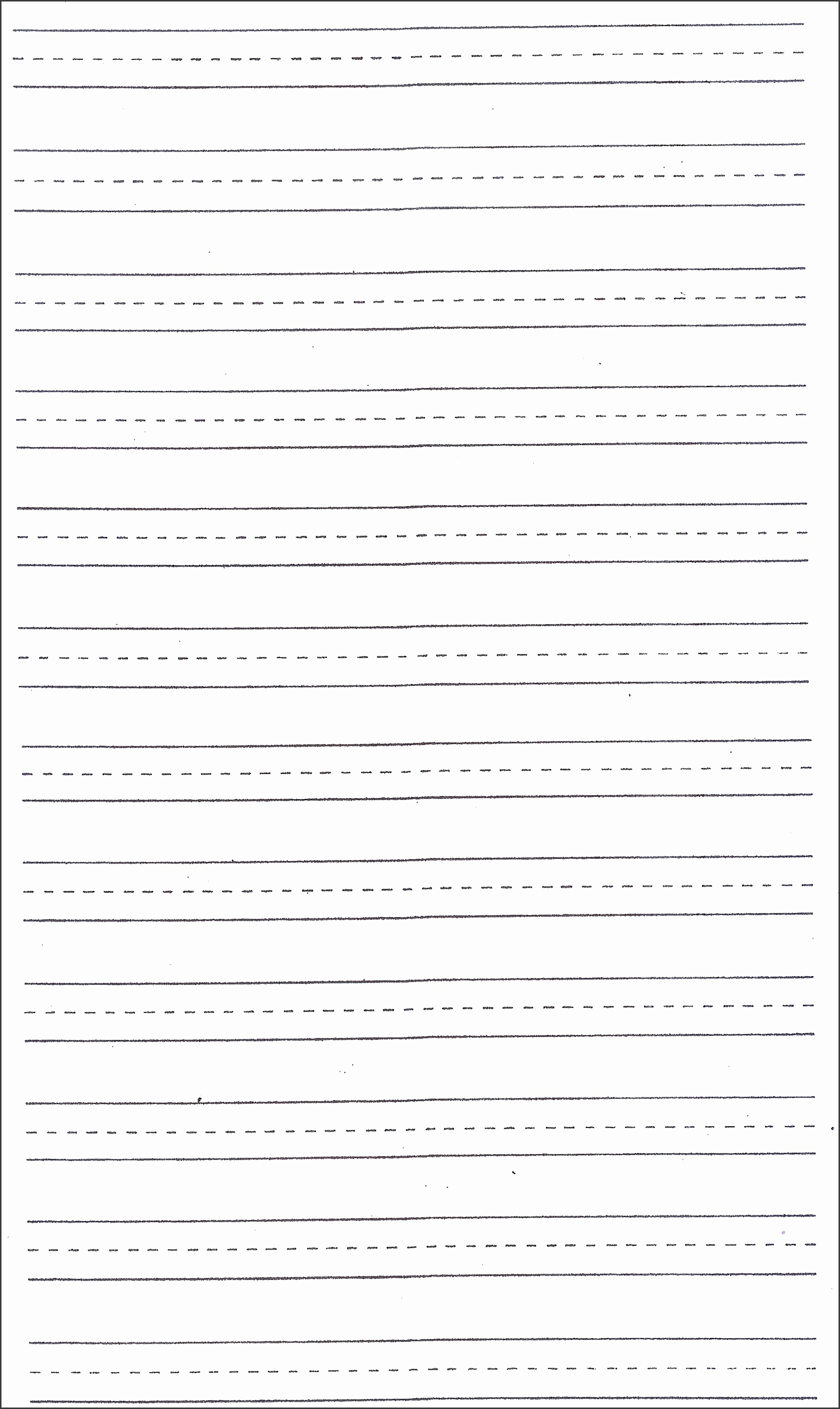 writing paper template 1
