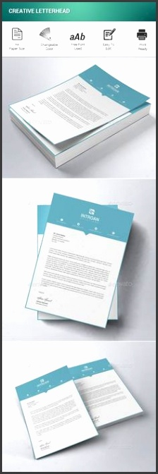 Creative Letterhead Bundle Creative and Letterhead headed paper template free