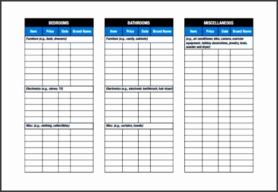 What s More Picture showed above is Blank Moving Checklist Template For Home