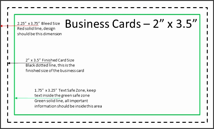 5 illustrator business card template with bleed