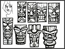 HD wallpapers indian mask template