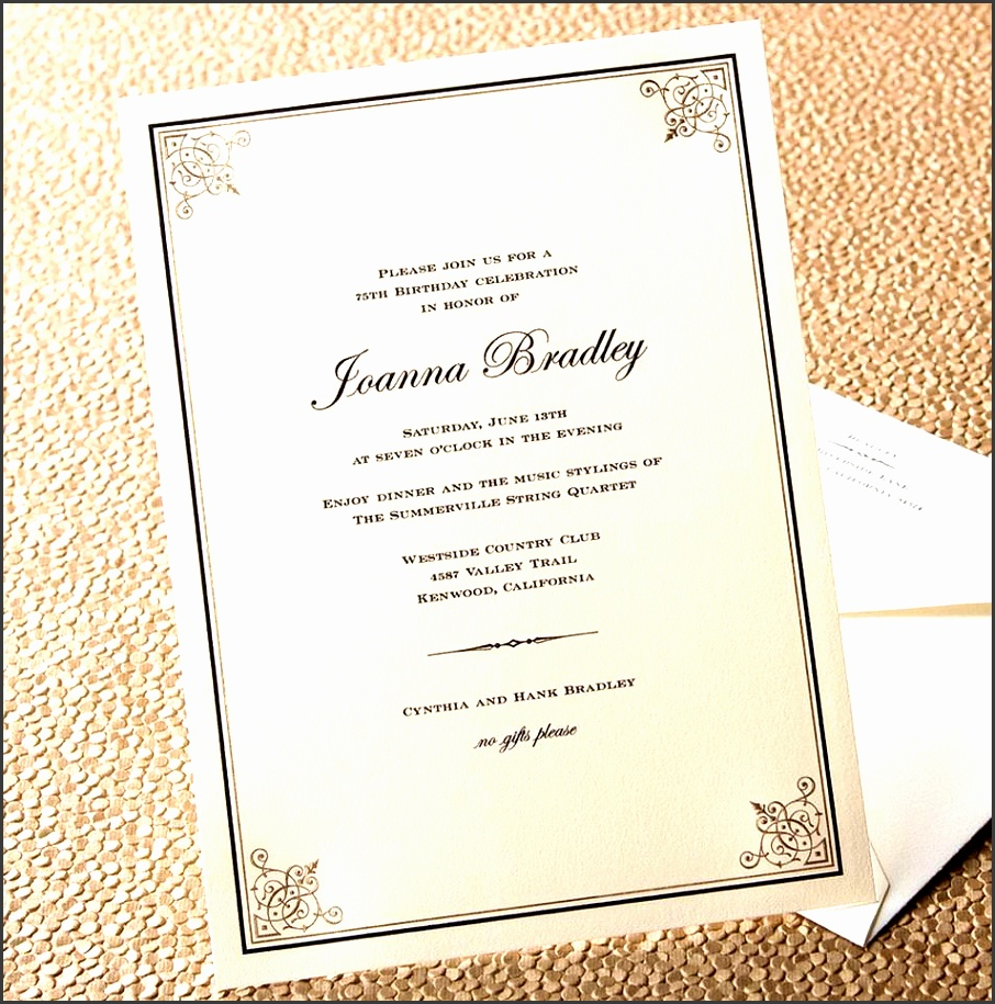 7 informal dinner party invitation wording