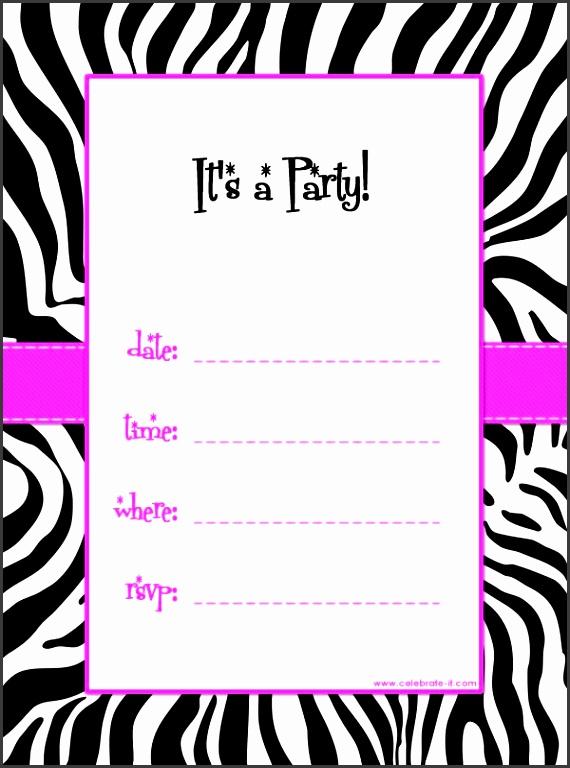 Free Party Invitations line Best 25 Free Printable Birthday Invitations Ideas Pinterest