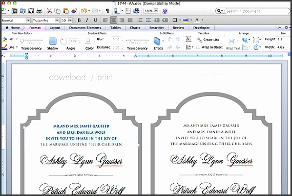 Free Printable Wedding Invitation Templates For Word Which Can Be Used As Extra Amazing Wedding Invitation Design Ideas
