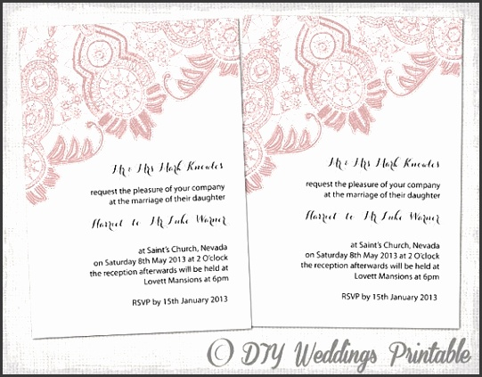 how to create wedding invitation card in word