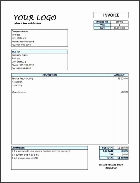 It Invoice Template Service Invoice Template Excel Service Invoice Templates – Pdf Word Excel – Get Calendar Templates Excel Invoice Template Excel Invoice