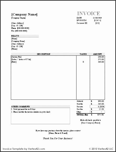 Free Invoice Template Sample Invoice 2 Invoice 2