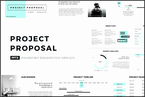 Project Proposal PowerPoint Template Presentations