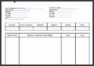 Gallery of Itemized Invoice Template