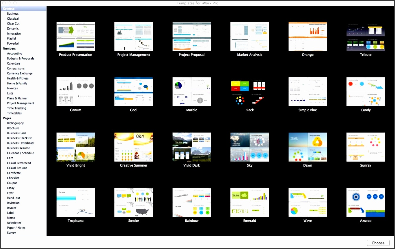 Templates For Iwork Pro Mac