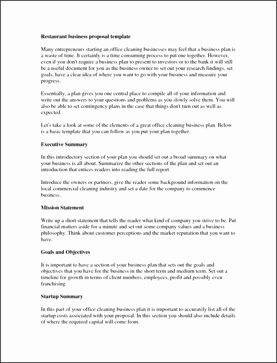 Janitorial Cleaning pany Business Plan Template Youtube Service