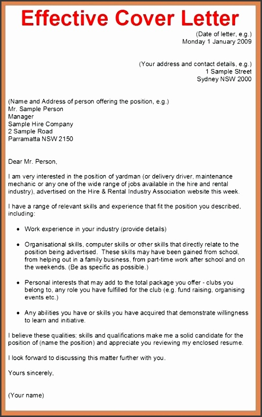 7 Job Application Cover Letter Templates ...