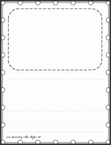 free printable story paper d97b0592ef b1abd8c655d6922a5 kids writing paper writing paper template