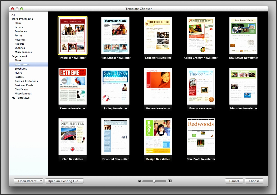 Brochure Templates Mac Lovely Apple Brochure Templates Pages For