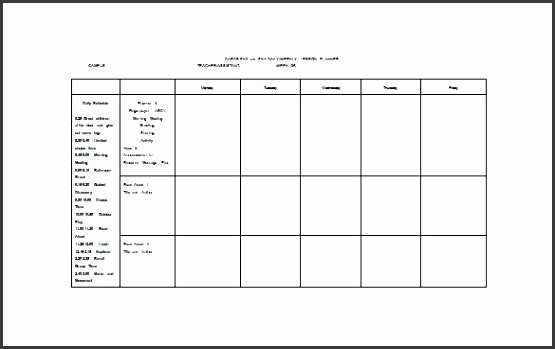 lesson plan template word mon core weekly lesson plan word free lesson plan template uk