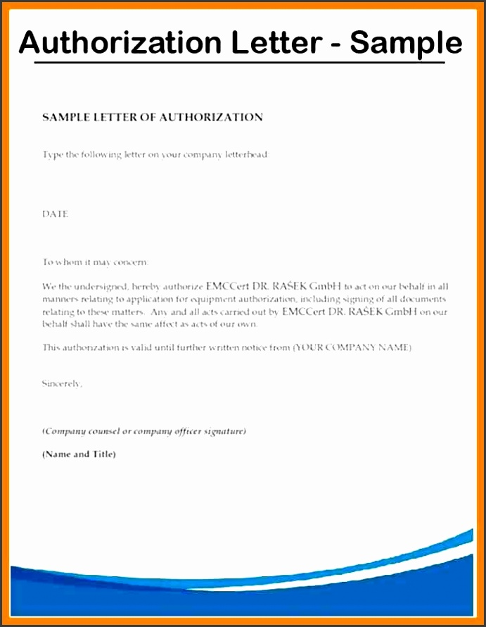 7 Authorization Letter Sample To Act Behalf Biodata Sample Authorization Letter Sample To Act